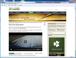 Justin Taylor Blog