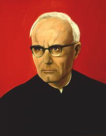 "Karl Rahner.  20th century Roman Catholic theologian famous for his concept of ""anonymous Christianity"""