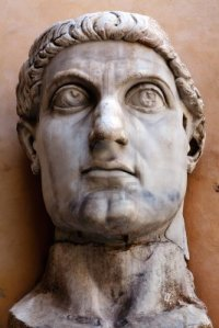 "Constantine the Great, founder of ""Christendom."""