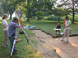 Archaeology students from the College of William and Mary doing field work a few years ago at Werowocomoco, a prominent Native American village in pre-colonial Virginia... and famous site for Captain John Smith's rescue by Pocahonatas.