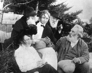 Alexander Graham Bell and Hellen Keller