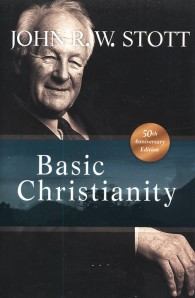 John R.W. Stott, author of the classic introduction to the Christian faith, Basic Christianity.
