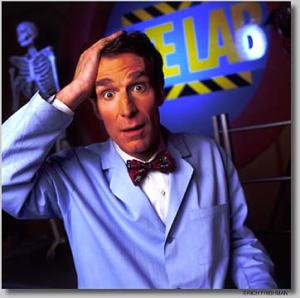 Bill Nye, the Science Guy.  Comedian and science educator for a generation of young people.  Now a participant in the culture wars??