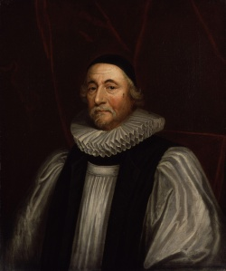 "James Ussher (1581-1656), Ireland Archbishop who calculated from the Bible that the earth was created on Sunday, October 23, 4004 B.C.    Throughout   church history, most (but not all) Christians have embraced  such a   view of a ""Young Earth"" as taught within the pages of Holy Scripture (Wikipedia, painting by Sir Peter Lely (1618-1680)."