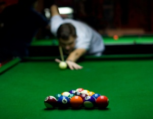 How good a pool player is the The Lord of all Creation?   Does God sink all of the balls in one shot, or does He take multiple shots to demonstrate His Glory?