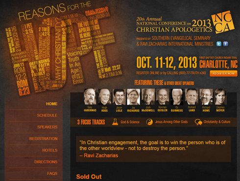 2013 National Conference on Christian Apologetics