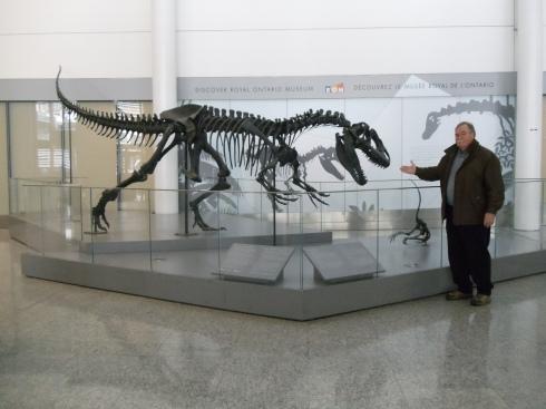 Dinosaur at Toronto Airport