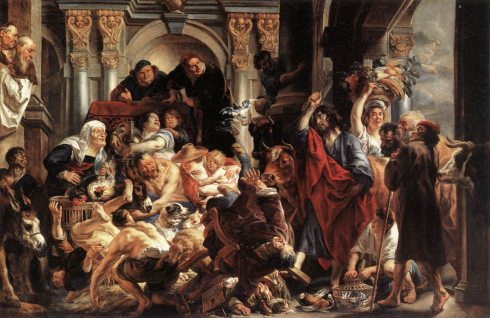 Christ Driving the Merchants from the Temple