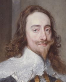 King Charles I of England (1660-1649).  Defender of the church of England… except in the eyes of Puritans like Oliver Cromwell. The only seated king in England ever to be tried and executed for treason.