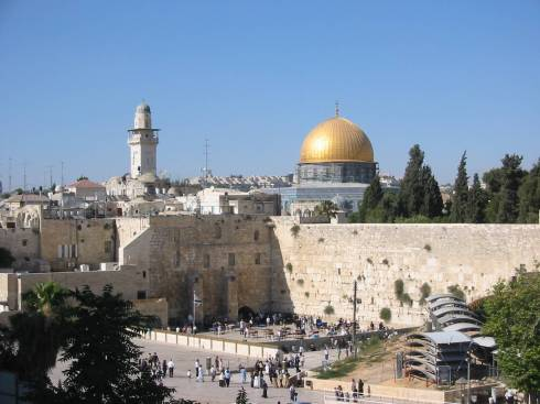 The Western Wall of the Temple Mount in that Holy City: Jerusalem