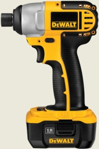 Dewalt Impact Driver. You can drive some screws with this baby? Are you using the right tools to help you in your spiritual growth?