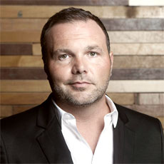 Mark Driscoll. Former pastor of the Mars Hill mega-church in Seattle, Washington.