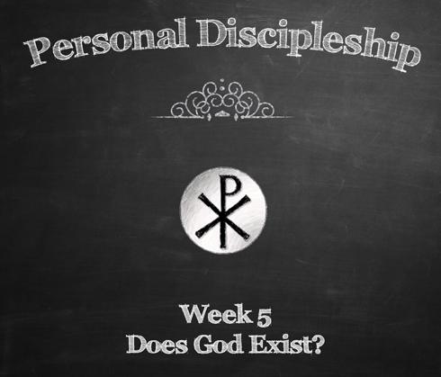 Personal Discipleship - Week-5