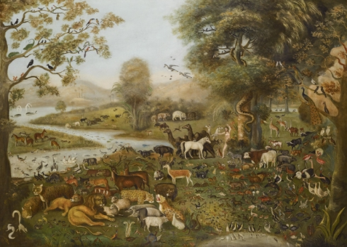 The Naming of the Animals, by John Miles of Northleach 1781-1849 (media credit: sothebys.com)