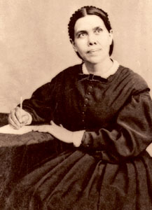 Ellen Gould Harmon White (1827-1915). Spiritual visionary who has given shape to the contemporary Seventh-Day Adventist movement.