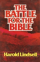 Harold Lindsell's Battle for the Bible (1976) sounded a call for the church to come back to its roots in the Bible. Unlike other books, Lindsell named the names of other evangelicals he thought were compromising the inerrancy of Scripture. Even sympathetic critics today conclude that Lindsell's book was divisive and unhelpful, but that his basic concern was indeed correct.