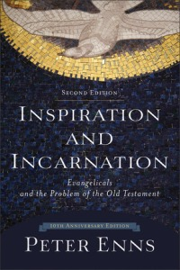 Peter Enns Inspiration and Incarnation (2005 and 2015) is the book the reignited the contemporary debate over inerrancy.
