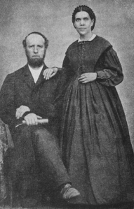James (1821--1881) and Ellen White. Publishing and organizational dynamos of Adventism.