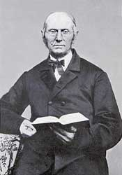 Joseph Bates (1792-1872), early Adventist leader who convinced Ellen G. White of the importance of the seventh-day Sabbath. In 2015, many Adventists believe that Pope Francis' recent visit to the United States anticipates a future time when the secular United States government and Roman Catholic papacy will conspire together to outlaw worship on the Sabbath (Saturdays), an event of persecution that anticipates the imminent Second Coming of Christ.