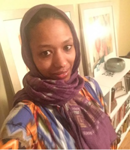 "Wheaton College professor, Larycia Hawkins, in ""hijab."" (Facebook)"