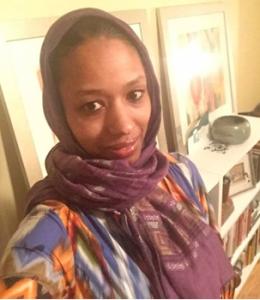 """Wheaton College professor, Larycia Hawkins, in """"hijab."""" (Facebook)"""