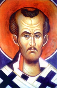 John Chrysostom (347-407). Popular Bible teacher in Constantinople (modern day Istanbul, Turkey), knows for his fiery preaching. Yet critics consider some of his sermons to be anti-Judaistic (credit: Orthodox Church in America).