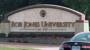 Bob Jones University, Greenville, South Carolina.