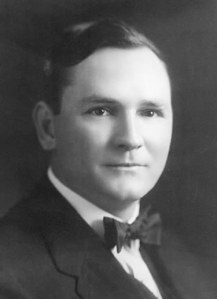 Bob Jones Sr (1883-1968), as a young evangelist. Jones founded an influential fundamentalist university in Greenville, South Carolina. However, he was also known for preaching against racial integration (credit: Wikipedia)