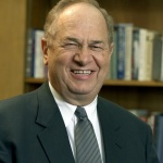 Walter C. Kaiser. Former president of Gordon-Conwell Seminary, Old Testament scholar, and friend of future Israel.