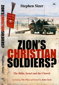 "I would recommend that readers get a copy of something like Stephen Sizer's Zion's Christian Soldiers, and read it alongside of Joel Richardson's When a Jew Rules the World, and then form their own conclusion. In theologian Gilbert Bilezikian's review of an early Sizer version of this title, ""I'm grateful for this book's advocacy of the church as the Bride, instead of Israel as the bride and the church as the concubine."" How is that for a provocative endorsement!!?"