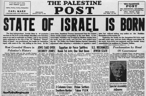 "What is the ""big deal"" about 1948 and Israel?"