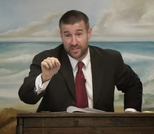 Steven Anderson, King-James-Only pastor in Tempe, Arizona, and Internet sensation, narrates the film Marching to Zion, a stiff and unbending reaction to Christian Zionism, to the extreme.