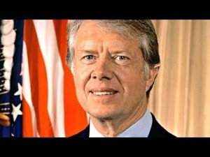 President Jimmy Carter. Peanut farmer turned 1970s apocalyptic figure.