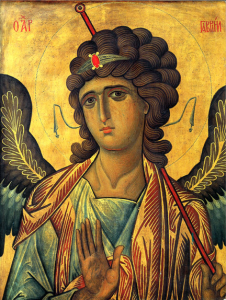 "The angel Gabriel, from a 10 century icon, spoke to Daniel, with a mysterious vision of ""Seventy Weeks."" (credit: Uncut Mountain Supply)"
