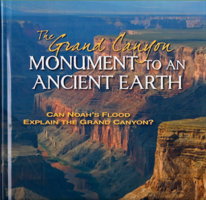 The Grand Canyon: Monument to an Ancient Earth: Can Noah's Flood Explain the Grand Canyon? is a beautiful new book, with lots of great photography, that makes the point that fossil record shows that the distribution of different animal remains are found in distinct layers, which a global flood model does not account for.