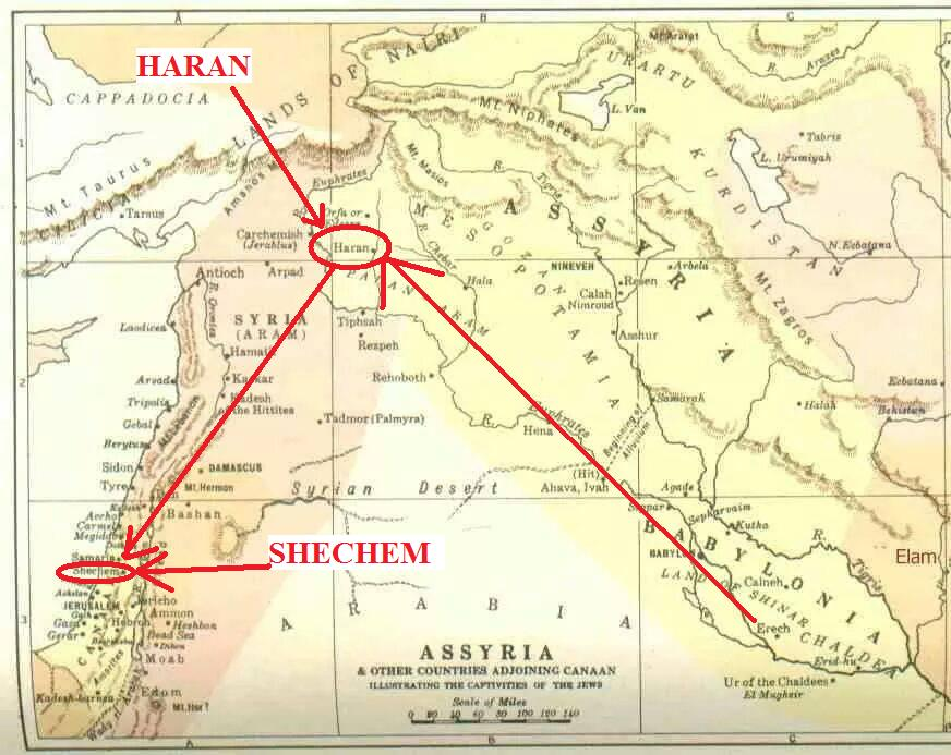 Did Abraham Receive the Call to Go to Canaan While in